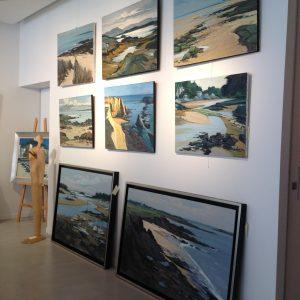 Exposition Guillain, Dinard, Galerie Winston