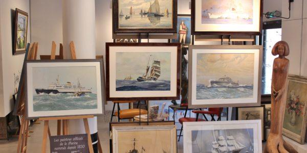 Galerie Winston Dinard-Les Peintres Officiels de la Marine