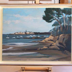 Soir sur la baie de Saint-Malo, 15P
