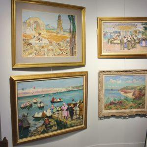 Lucien Simon, Mathurin Meheut, Dezaunay, Peintres Bretons, Peintres Officiels de la Marine