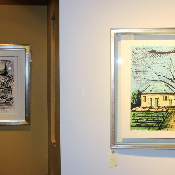 Exposition Bernard Buffet, Dinard, lithographies, gravures, peintures à l'huile