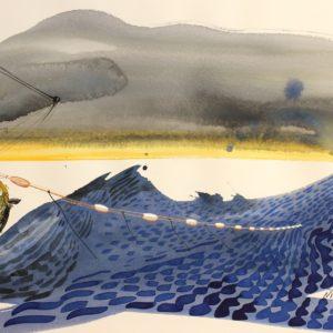 Nicolas VIAL, Kafkacontemporain, aquarelle
