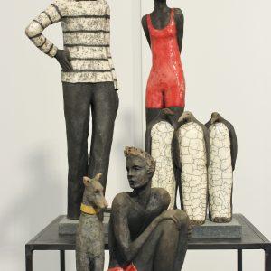 Exposition Sylvie du Plessis à la Galerie Winston à Dinard