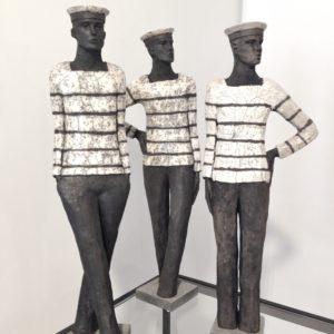 Sculptures en Raku Sylvie du Plessis