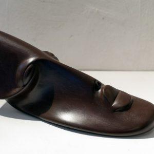 Tete dAfrique, Lutfi Romhein, Galerie Winston Dinard