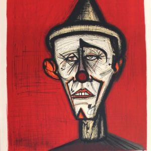 Bernard BUFFET, Lithographie Mon cirque n°139, 1968