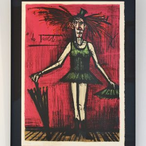 Clown Bernard BUFFET-Le Travesti