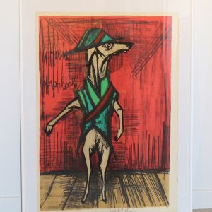 Lithographie Clown Bernard BUFFET