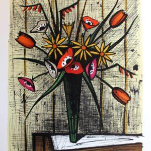 Bernard Buffet, Anémones et tulipes
