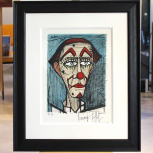 Bernard BUFFET, lithographie Clown EA