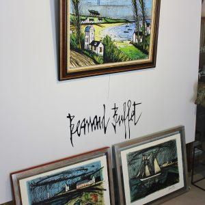 Bernard BUFFET, huile sur toile