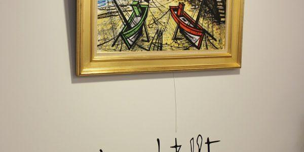 Exposition Bernard Buffet, Huile sur toile