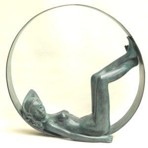 Margot PITRA, la bulle, bronze