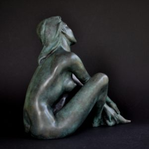 Margot PITRA, La Musica, sculpture en bronze
