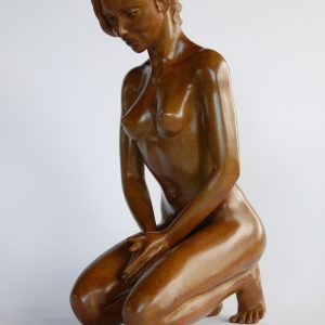 sculpture en bronze Margot PITRA