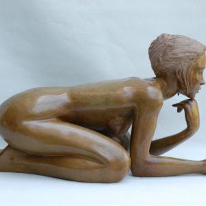 Margot PITRA, la songeuse, bronze n°2/8