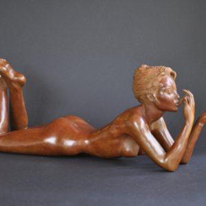 la Gourmandise, bronze n°8/8, vendue