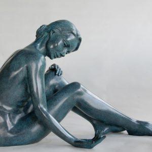 La vie comme le sable II-n°1/8-sculpture en bronze