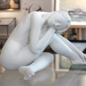 Margot PITRA, Sérénité, Terre de création, 30x18cm