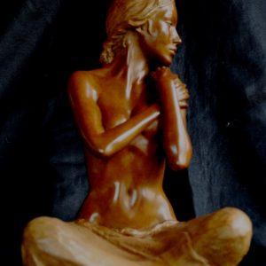 Sculpture bronze Margot PITRA
