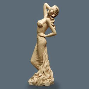 Margot PITRA, La belle cascade, Terre de création, PU, 57cm
