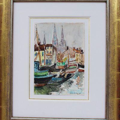 Pierre de Belay, le port d'Ostende