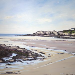 William HIMO, Saint-Lunaire, hst, 50F, 90x116cm