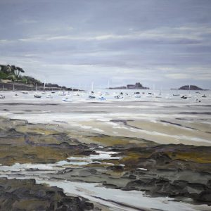 William HIMO, Dinard, hst, 30F, 92x73cm