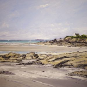 William HIMO, Saint-Lunaire, hst, 30F, 73x92cm