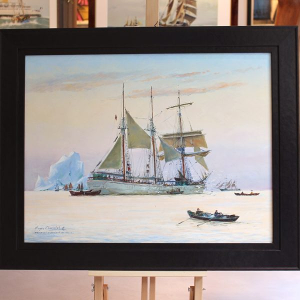 Roger CHAPELET, Madiana, huile sur toile, 50x65cm