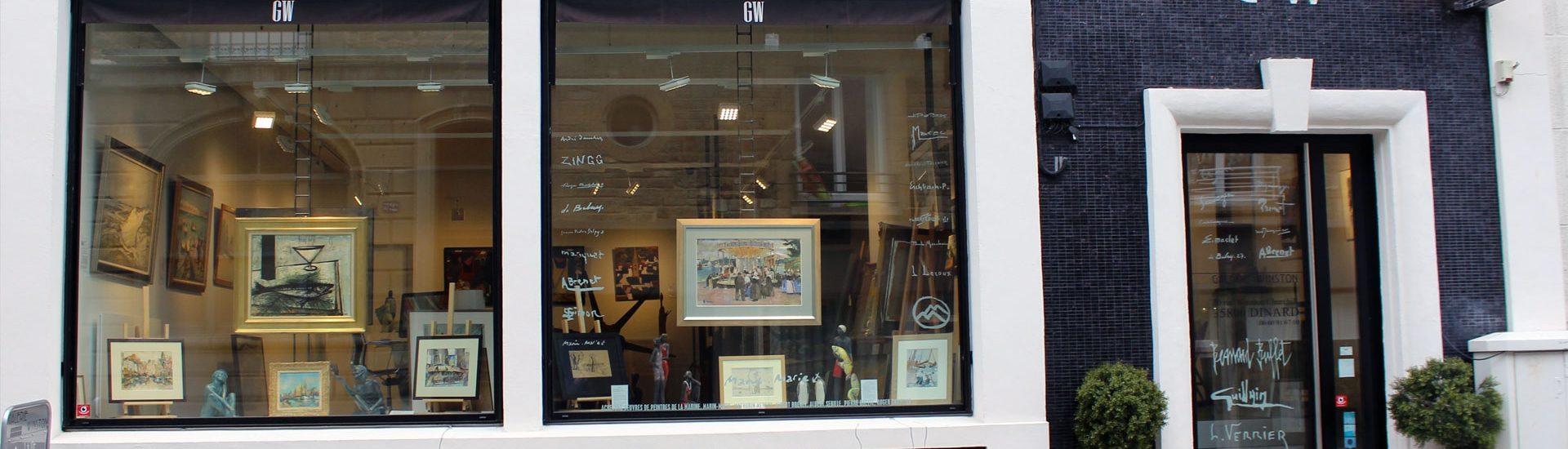 Galerie d'art à Dinard