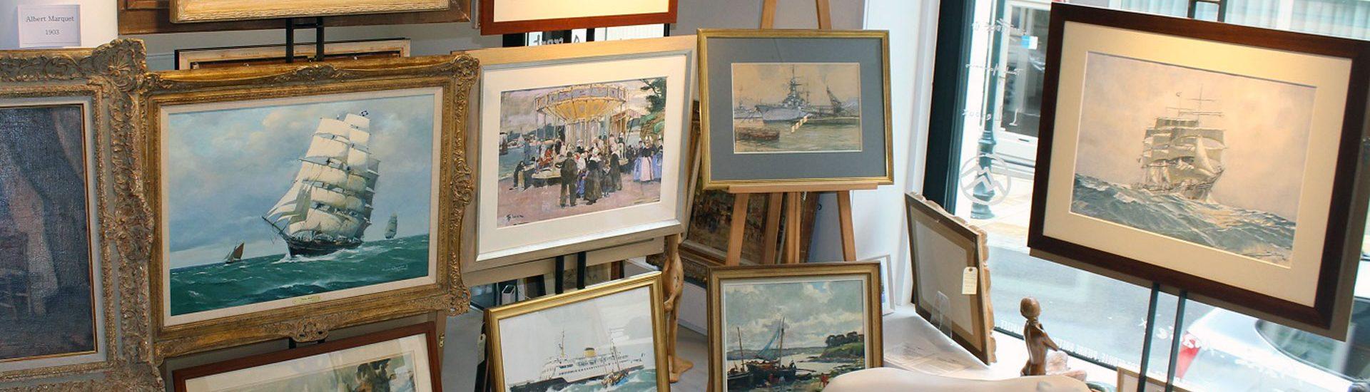 Exposition permanente des Peintres Officiels de la Marine