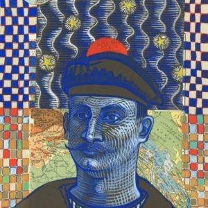 Marie Détrée, gouache sur papier