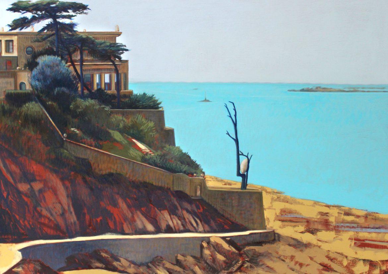 Exposition «Un été à Dinard» de Marie Détrée, peintre officiel de la Marine