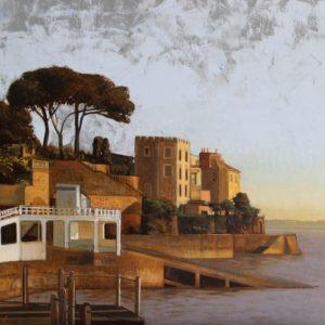 Castelbrac, huile sur toile, 100x70cm-VENDU