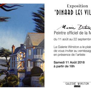 """Exposition """"Dinard les villas"""" à la Galerie Winston"""