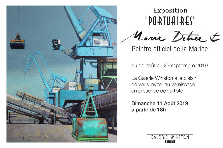 Exposition «Portuaires» de Marie Détrée, du 11 août au 23 septembre 2019
