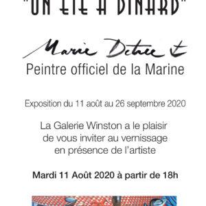"""Marie Détrée, exposition """"Un été à Dinard"""""""