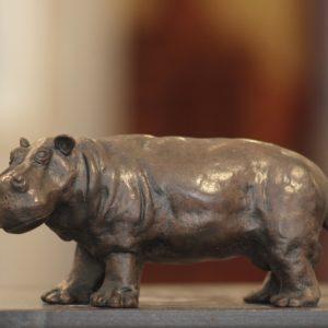 Jean Lemonnier, Hippopotame, bronze n°8/8