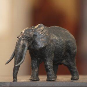 Jean Lemonnier, Petit éléphant, bronze n°1/8