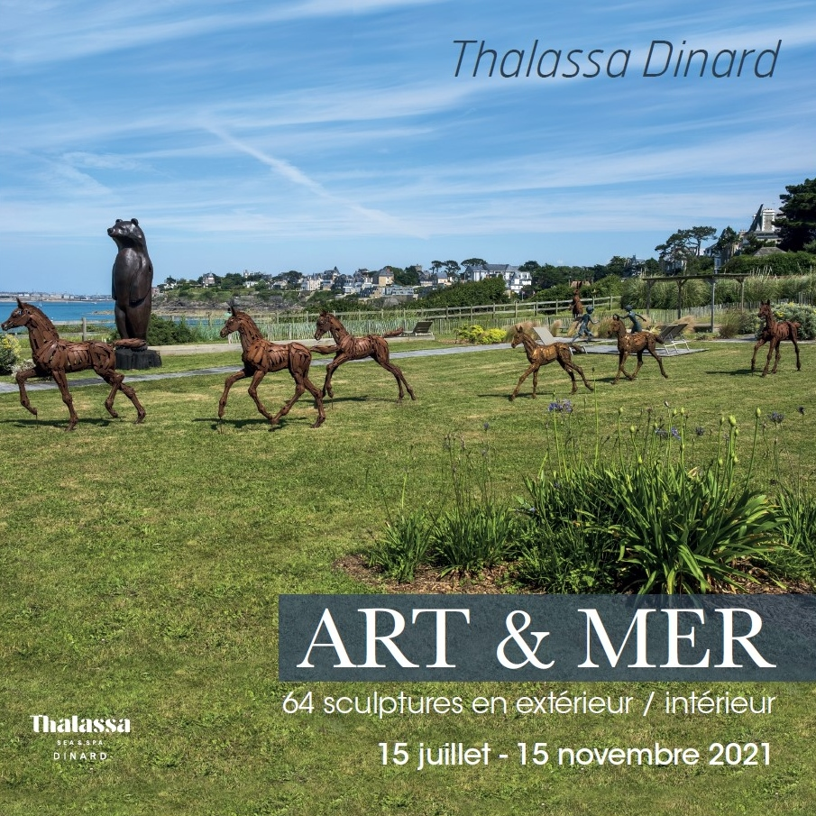 Exposition Art & Mer à Thalassa Dinard