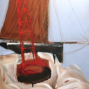 Nicolas VIAL, acrylique sur toile, 131x97cm