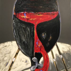 Nicolas VIAL, acrylique sur toile, 131x97cmcm