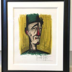 Bernard BUFFET - Le Clown Jojo 1967-49/125-48x37cm