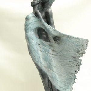 Le bateau ivre, sculpture en bronze n°4/8