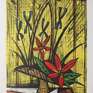 Bernard BUFFET, La cueillette, 1987, lithographie 129-150