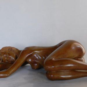 En douce, bronze n°1/8