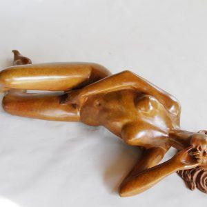 Toccata, sculpture en bronze Margot PITRA