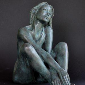 Margot PITRA, La Musica, sculpture en bronze