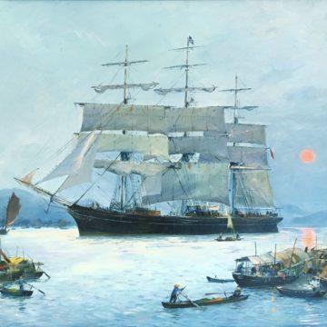 Exposition Roger Chapelet et Jean Lemonnier, peintres officiels de la Marine